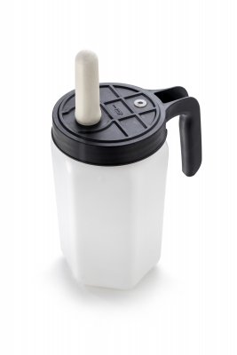 All-In-One-Colostrumfeeder Behälter mit Nuckel zum Vertränken